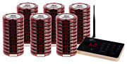 Brand New Pager Genius 60 Restaurant Coaster Pagers Complete Paging System