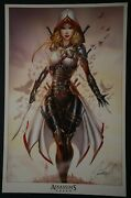 Assassins Creed Print Signed By Jamie Tyndall