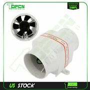 4and039and039 In Line Dc 24v Marine Boat Bilge Air Blower Fan 270 Cfm Ventilation 102mm