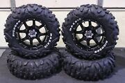 Can Am Renegade 500 26 Bighorn Rwl Atv Tire And 14 Cobra Blk Wheel Kit Can1ca