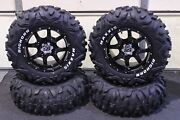 Can Am Renegade 800 26 Bighorn Rwl Atv Tire And 14 Cobra Blk Wheel Kit Can1ca