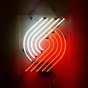 Portland Trail Blazers Acrylic Neon Sign Lamp Light Beer Bar With Dimmer