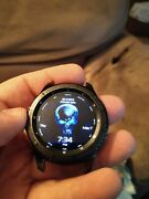 Samsung Galaxy Gear S3 Frontier Smart Watch 46mm Black Works- Pre-owned