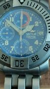 Sector Diving Team Automatique Chronographe 1000mt 3300ft Swiss Made Rare