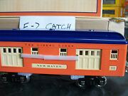Scarce The Lionel Lines Mth Built 310 Series Tinplate New Haven Baggage Car