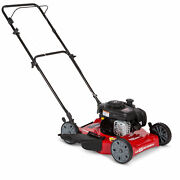 Lawn Mower Hyper Tough 20 Side Discharge Push With Briggs And Stratton Engine