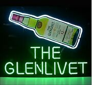 The Glenlivet Whisky 20x16 Neon Sign Lamp Bar With Dimmer