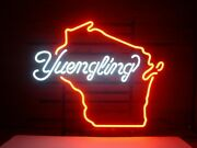 Yuengling Wisconsin Lager Ale 20x16 Neon Sign Lamp Bar With Dimmer