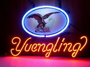 Yuengling Eagle Logo 20x16 Neon Sign Lamp Bar With Dimmer