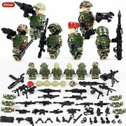 Ww2 Russian Alpha Force Soldiers Mmilitary Building Special Force Army Toys Kids