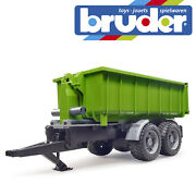 Bruder Roll-off-container Trailer For Tractors Kids Farming Toy Farm Scale 116