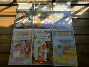 Vtg 6 Vhs The World Of Peter Rabbit And Friends, Beatrix Potter 1893 Collectors