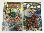 Daredevil 153 And 154 Comic Book Lot Of 2 Marvel Featuring Cobra And Mr Hyde