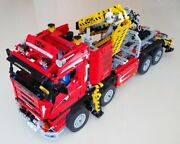 Lego Technic 8258 Crane Truck With Power Functions Rare