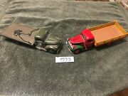 Lot Of 2 Antique Model 1941 Trucks Rack Body And Army Hickam Airfield