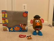 Thinkway Toy Story Collection Mr Potato Head Rare Discontinued Speaks French