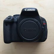 Canon Eos Rebel T3i Dslr Camera With 18-55mm Zoom Lens