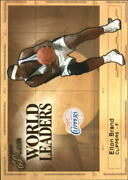 2003-04 Flair World Leaders 7 Of 20 Elton Brand Clippers R51579