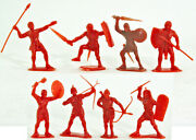 Marx Recast 60mm Egyptians - 8 In 4 Poses Our Choice - 1980s Former Soviet Union