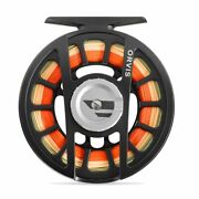 New Orvis Hydros Ii Fly Reel In Black For 3 4 Or 5 Weight Rod -free Us Shipping