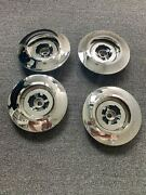 Used Genuine Rolls Royce Phantom Hub Cap Chrome Plated Set Of 4 Pcs 36136767563