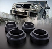 Heavy Duty 4x Spring Spacer 40mm Real Rubber Lift Kit Mercedes G W463 W461 Hq Hd