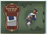 Hideo Nomo 2004 Donruss Timeless Treasures Rookie Year Materials Patch 9/10