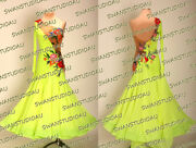 A Brand New Ready To Wear Electric Green Ballroom Dress Sizes Us 4-6 Wb4051