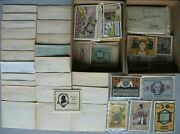 Emergency Money Reutergeld Collection With Over 870 Pcs From Germany And Austria