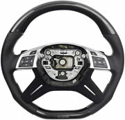 G Wagon Mansory Style Steering Wheel Carbon Fiber For Mercedes-benz G-class W463