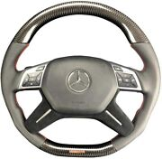 Mansory Style G Wagon Steering Wheel Carbon Fiber For Mercedes-benz G-class W463