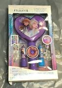 Disney Frozen 2 Flavored Lip Balm Set W/ Light-up Mirror, Ring And Hair Clip
