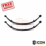 Icon 5 Lift Rear Leaf Spring Kit For Ford F-250 Super Duty 4wd 2008-2010