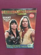 Hercules And Xena Warrior Princess Yearbook Magazine Posters Inside