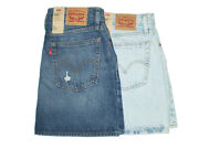 Leviand039s Womenand039s Deconstructed A-line Blue Denim Skirts Size 8 10 12 New 59