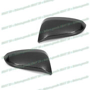 For 2014-2020 Toyota 4runner Glossy Black Carbon Fiber Side Mirror Covers Trims