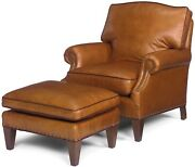 Ottoman Ottoman Reproduction Reproduction Wood Leather Wood Leather N Mk-