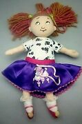 Madame Alexander Cloth Rag Fancy Nancy Doll In Poodle Skirt Outfit And Crown 9