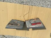 1980 Rover 3500 Or Sd1 Rear Bumper Side Ends From Us Car
