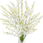 39andrdquo Dancing Lady Orchids 10 Pcs Artificial Long Stem Flowers For Wedding