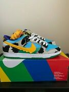 Nike Sb Dunk Low Ben And Jerryand039s Menand039s Us Size 10 Cu3244100 Chunky Dunky