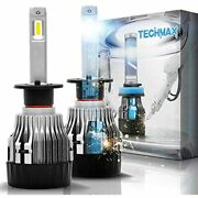 Mini H1 Led Headlight Bulb,60w 10000lm 4700lux 6500k Cool White Ip65 Extremely 2