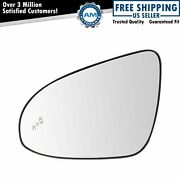 Blind Spot Detection Heated Mirror Glass Driver Side Lh For Toyota Camry