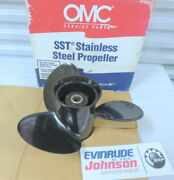 Evinrude Johnson Omc 174927 Ssp Propeller Oem New Factory Boat Parts