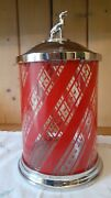 Williams Sonoma Apothocary Jar / Canister With Lid / Dog