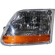 Headlight Lamp Left Hand Side For F150 Truck Driver Lh Ford F-150 2001-2003