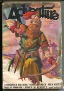 Adventure 9/1/1931-butterick-pulp Stories-ve Pyles Cover-ared White-charles L...