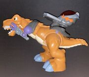 2011 Fisher-price Imaginext Mega T-rex Dinosaur Roars And Moves