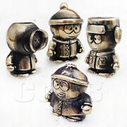 Set Edc Bronze Paracord Bead Beads Charm South Park For Knife Lanyard Coob