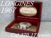 Antique Longines Watch 1967and039s Cal.370 Menand039s Ss Hand-wound /r301135643